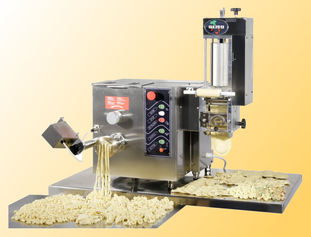 Multipla Combination Pasta Extruder Ravioli Machine from IFEA